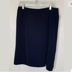 New Norton Mcnaughton Womens Skirt Size 12 Navy